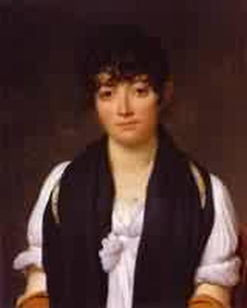 Portrait of suzanne le pelletier de saint fargeau 1804 xx j